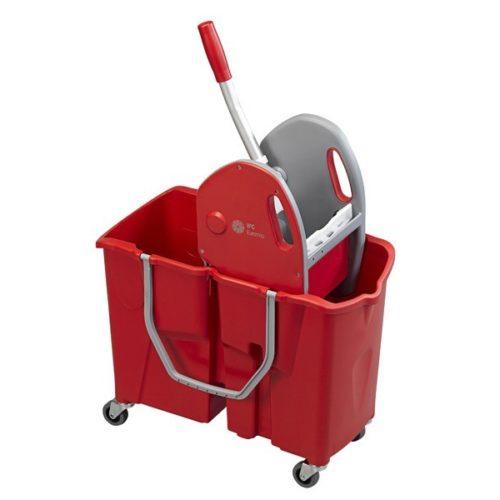 carrello doppia vasca per pulizie